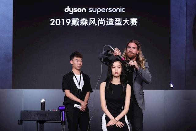 闪耀风型 只为专业发型师打造 第三届戴森风尚造型大赛决赛落幕上海